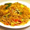 39.Spaghetti di riso con verdura